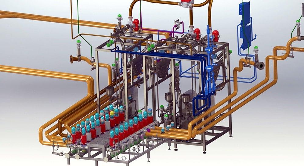 Sous-ensemble process recyclage