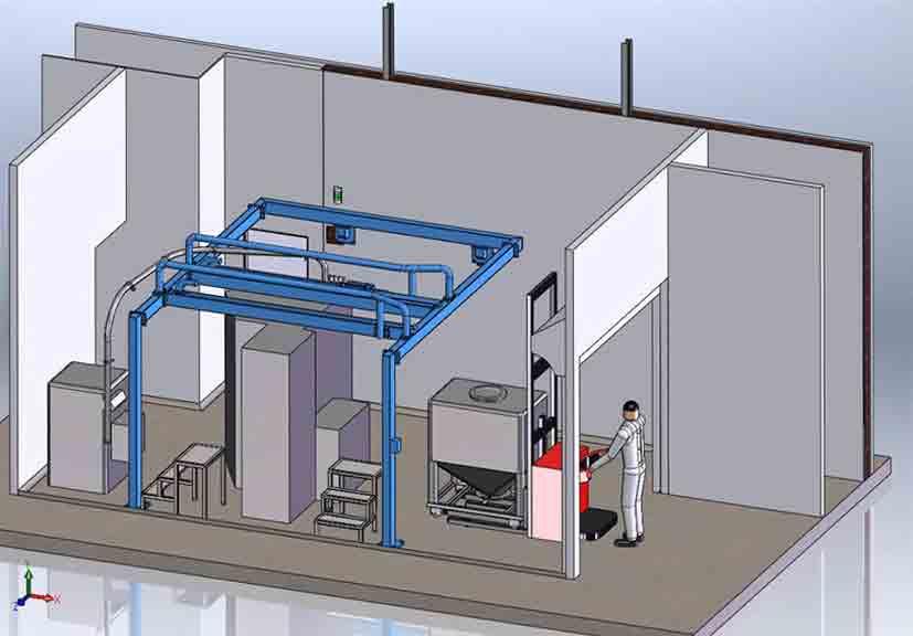 1--vue-3D-projet-plateforme-container-roulant