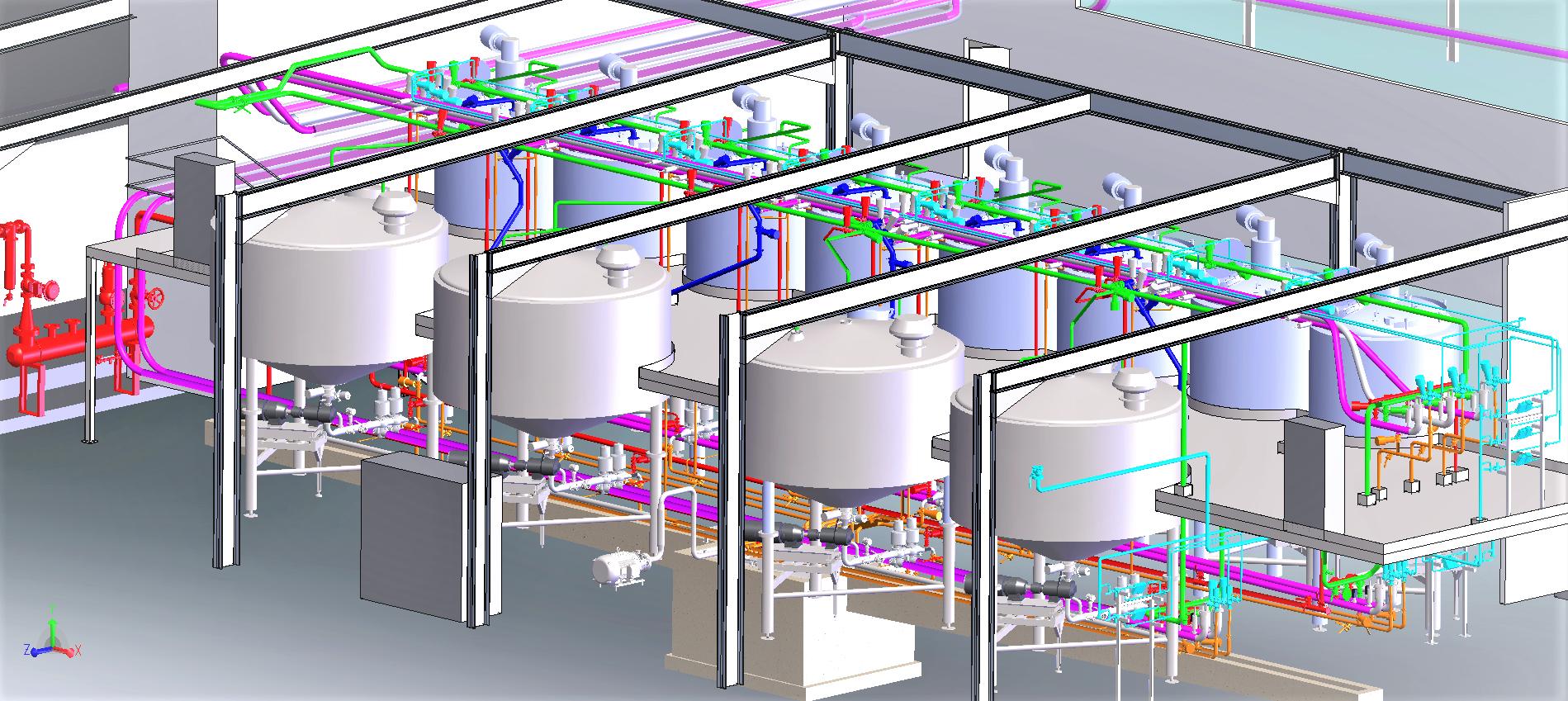 Construction salle de stockage produits finis<br>APD/dossier d'exécution