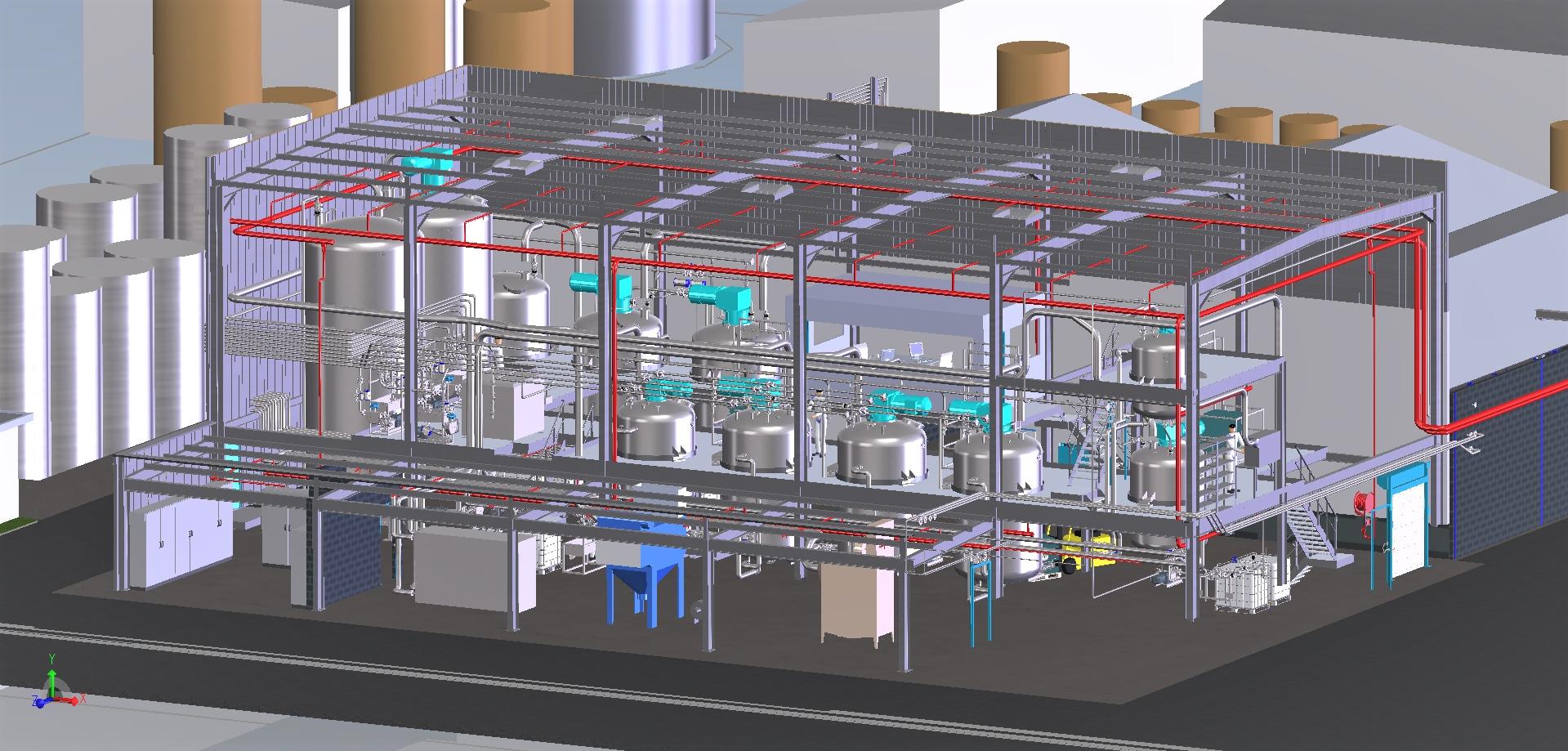 Construc. unité de production d'adjuvants béton<br>APS/APD /consultations